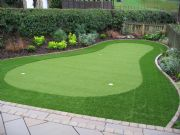 Briar Lea Landscpaes Install Home Putting Green