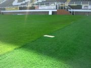 Artifical Grass Football Touchline