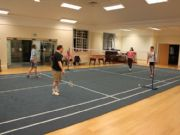 Verde Badminton Court - William Booth College