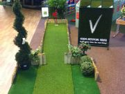 Brighton Garden Centre, Created a practice putting area instore!