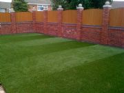'Stripy Lawn' using Verdeluxe - Adams Landscapes