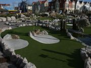 Artificial Grass Mini Golf at Blackpool