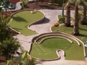 Artificial Grass Mini Golf in Tenerife