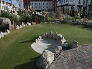 White Verdeturf - Bunkers - Adventure Golf Course