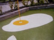 White & Yellow Verdeturf - Adventure Golf Course