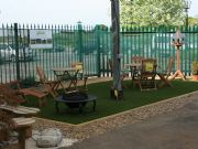 Botany Bay Show Garden with Verdeluxe