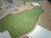 SV Grounds Install Putting Green Super Verdeturf