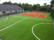 Verdeturf Terracotta – Childrens Tennis Court