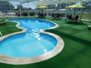 Cover Solution - Verdegrass round a swimming pool