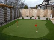 Briar Lea Landscapes install a Putting Green