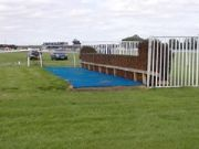 Blue Verdeturf for Horse Jumps - British Horse Racing Authority