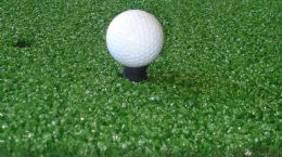 ***Three Star Golf Mat 1.49X1.49m