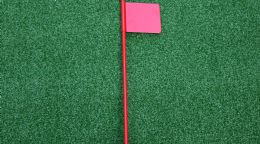 Golf Putting Flag
