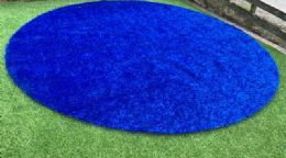 Blue Verdeturf Circle 2.00 x 2.00m