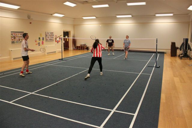 Did You Know We Manufacture Verde Badminton Courts