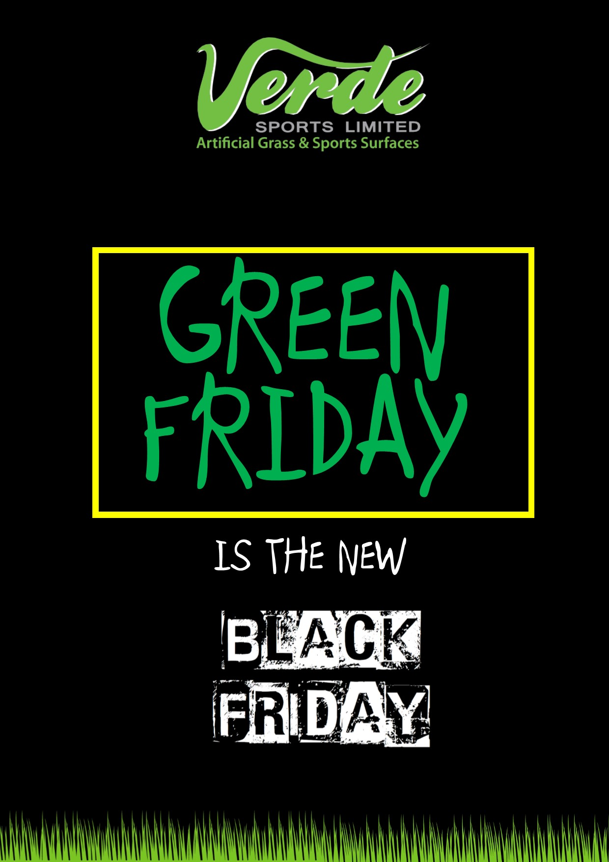 Green Friday Is The New Black Friday